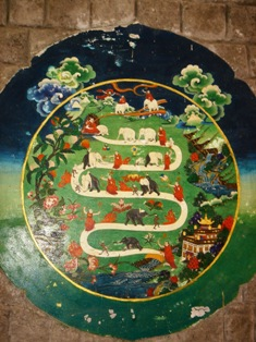 Norbulingka Wall Painting