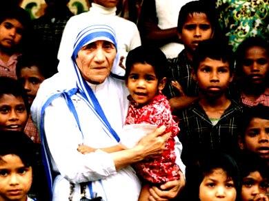 Sister Teresa with Kids