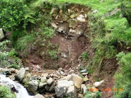Kandi Village erosion