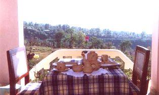 Early Bird Porch of Vidya Niwas, Dharamsala