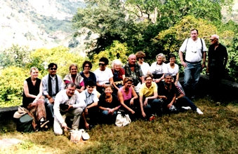 Foreign Visitors in Dharamsala