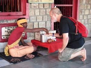 Dharma blessings in Dharamsala India