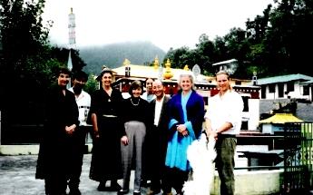 Dip-Tsechokling Monastery in Dharamsala