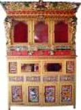 tibetan alter in dharamsala