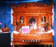 Tibetan alter offering