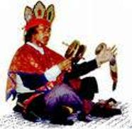 Tibetan Bon priest