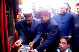PK Dhumal in Kandi, Dharamsala