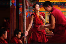 Tibetan monks debate