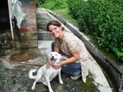 Fiona with Vidya Niwas Pets
