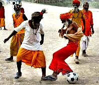 Sadhu's Fun...Football India