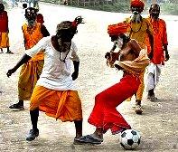 Sadhu's Fun...Football India