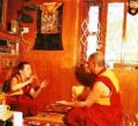 Tibetan Guru in Dharamsala