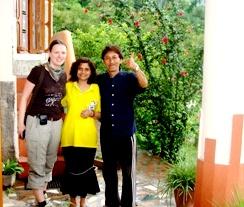 Guests at Vidya Niwas, Dharamsala