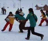 Snow Festival Kashmir