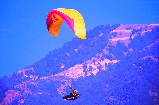 Paragliding Dharamsala