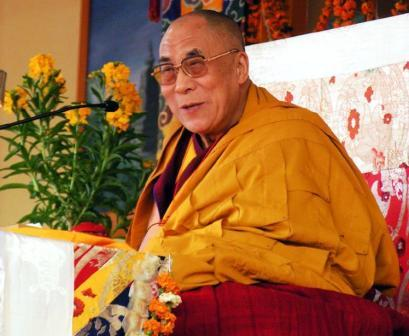 Dalai Lama Teaching 2009