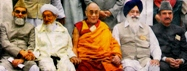 HHDL with Spiritual Leaders