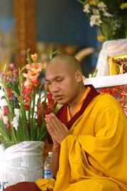 The Living Buddha in Dharamsala