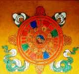 Tibetan Golden Wheel