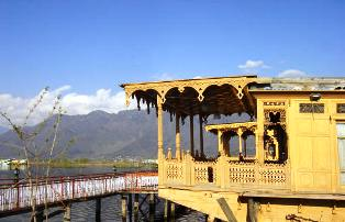 Boathouses of Kashmir