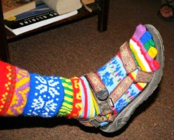 Himalayan Woolen socks..India Spiritual