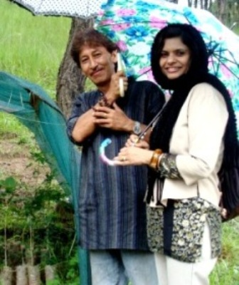 Sangeeta and Arvind Gurung