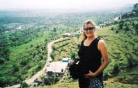 Becky at Meditation Hill