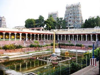 The Temple of Meenakshi, Madurai