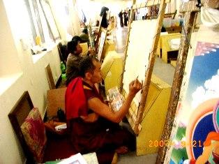 Norbulingka Monk Artist,Dharamsala