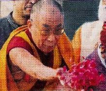 Dalai Lama, Rajghat, New Delhi