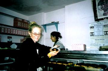 Pastry at Tibetan Den in Dharamsala
