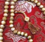 Buddhist Prayer Beads in Dharamsala