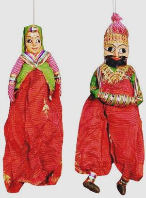 Rajasthan Puppet