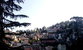 Shimla Hills, India