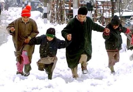 Snow Kashmir 2009