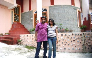 Sushmit & Aradhana at Vidya Niwas