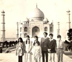 Sangeeta Gurung Childhood Taj Mahal Visit