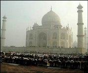 Taj Mahal Eid Prayers
