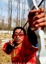 Archery in Tibet