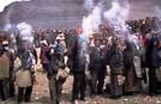 Throwing of Tsampa