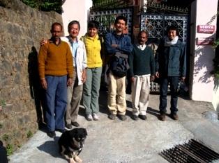 Japanese TV Team Vidya Niwas