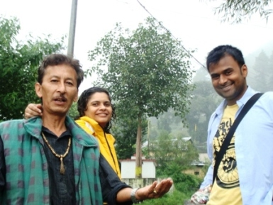 People in Dharamsala India