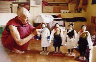 Tibetan Art Monk