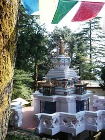 Dalai Lama Stupa