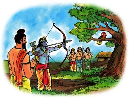 Arjun, Mahabharata