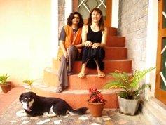 Barbara at Vidya Niwas