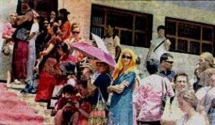 HHDL Teachings , Dharamsala