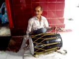 Village Temple Drummer, Kangra