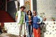 French friends at Vidya Niwas