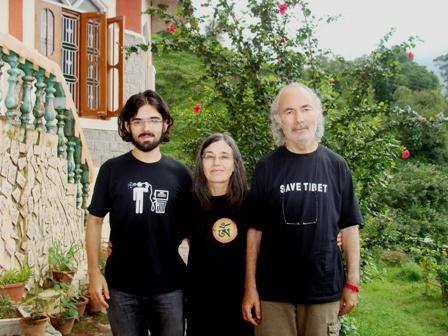 Portugal Guests at Vidyas Niwas